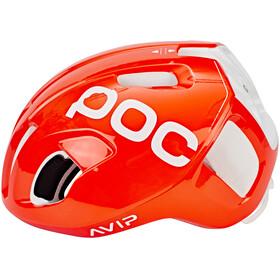 POC Ventral Spin Helmet zink orange avip
